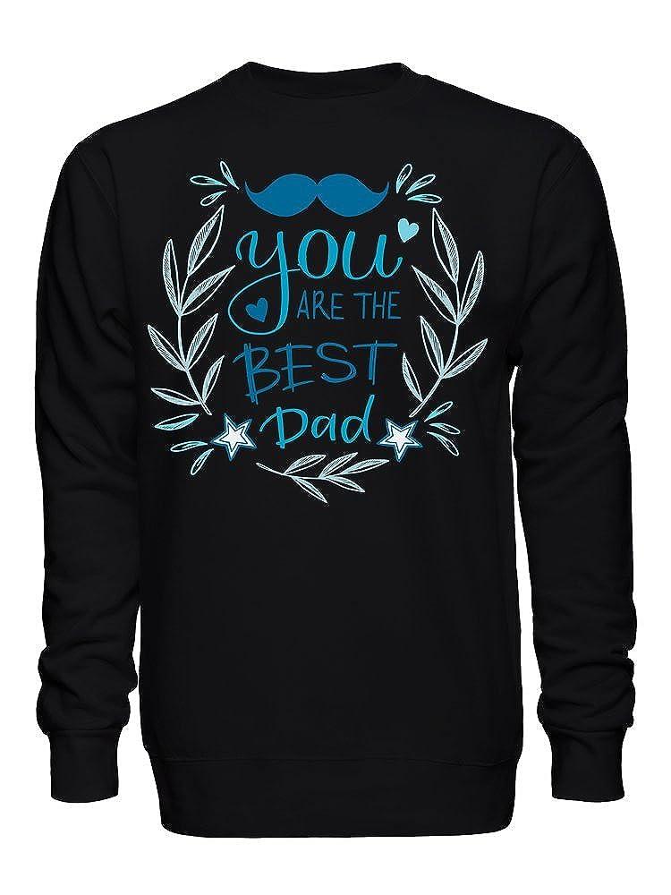 graphke You are The Best Dad Design Unisex Crew Neck Sweatshirt