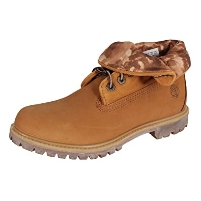 Timberland Women's Authentic Roll Top Boots, Wheat, ...
