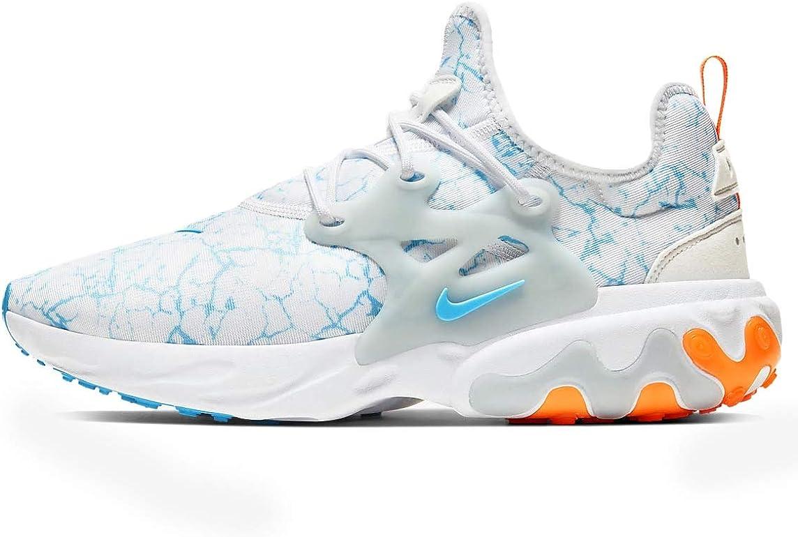 Nike React Presto Premium Mens Casual Running Shoes Cn7664-100 Size 11.5