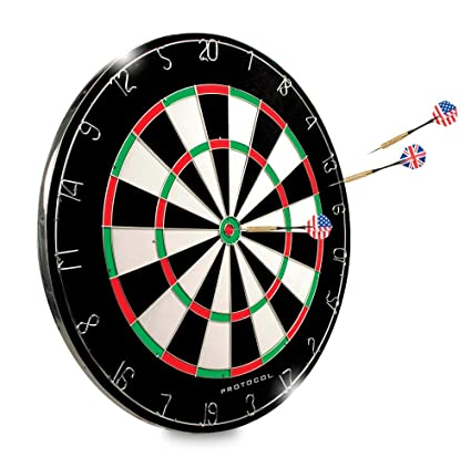 picture relating to Printable Dart Board called Dartboard - 18\
