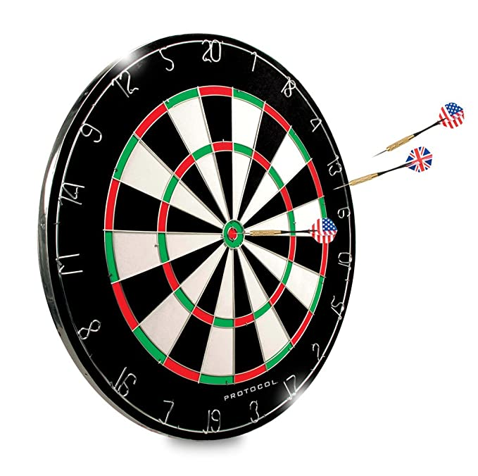 "Dartboard - 18"" Regulation Sized Tournament Dartboard 