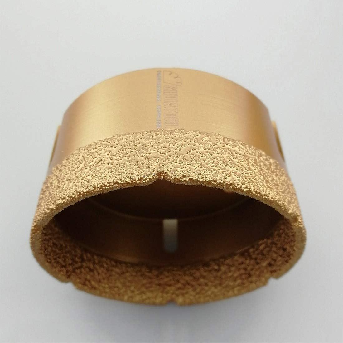 SHDIATOOL Broca de Diamante 38MM Vac/ío Soldadura para Perforaci/ón en Seco Porcelana Azulejo Granito M/ármol M14