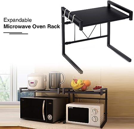 20CM EXPANDIBLE: extendiéndose de 40 a 60 cm, el estante puede satisfacer sus necesidades de almacen