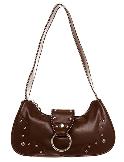 7fe5d1df1cf Amazon.com  Small Studded Hobo women handbag Shoulder Handbag by Handbags  For All  Shoes