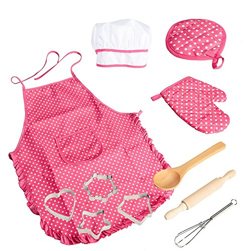 VIPAMZ Chef Role Play Costume Set-Complete Kids Kitchen Gift