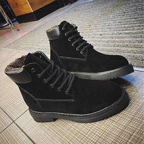 for Shoes Round PU Boots Casual Fall Black ZHZNVX Comfort Green Pigskin HSXZ Green Toe Winter Women's Chunky Mid Calf Heel Boots qSPEaw4