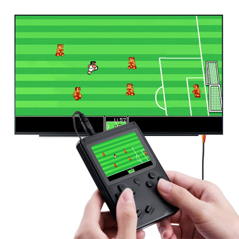 MyArTool Retro FC Handheld Game Console, Built-in Up to 168 8bit Classic Games 3 Inch LCD Screen Portable Video Game Consoles Synchronize with TV and Support for Two Players by MyArTool (Image #2)