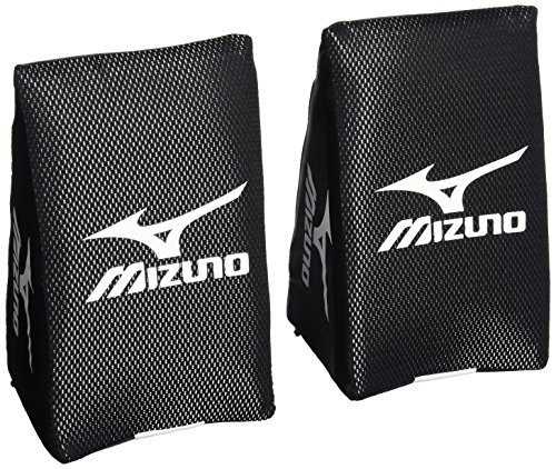 Baseball Catchers Knee Support - Mizuno Catcher's Knee Wedge, Black, Large