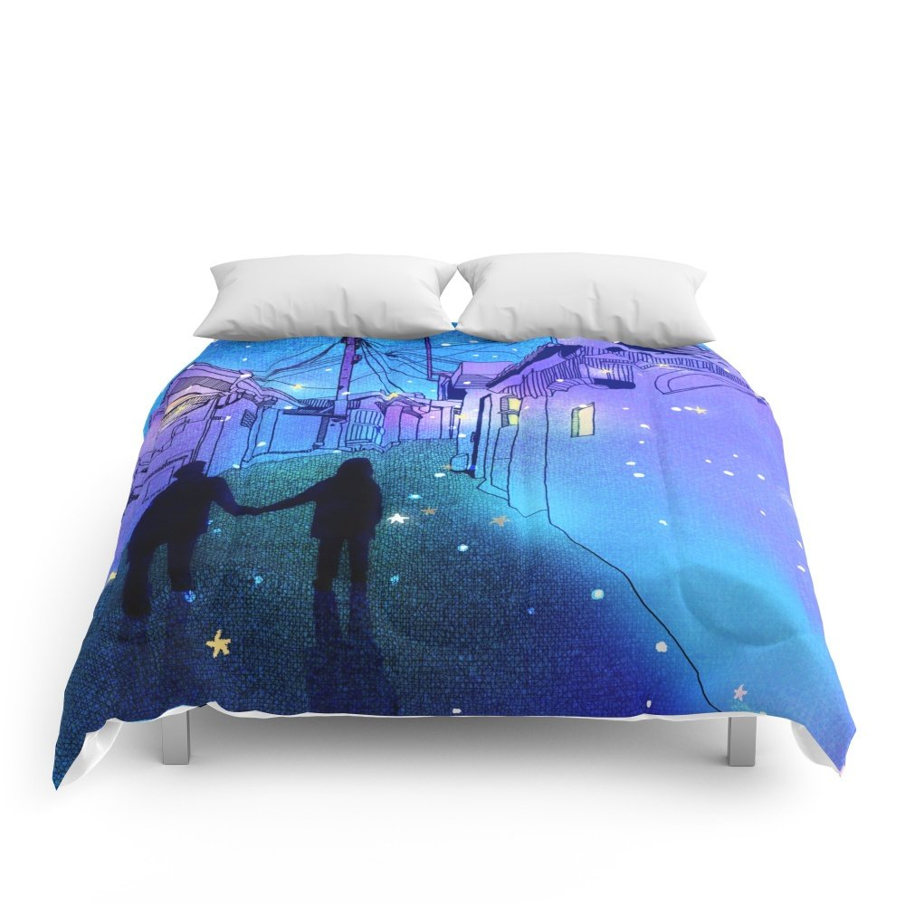 Society6 Every Day With You Comforters Full: 79'' x 79''