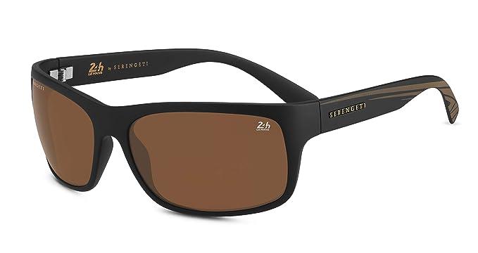 Serengeti Pistoia Gafas de Sol, Unisex Adulto, Satin Black ...