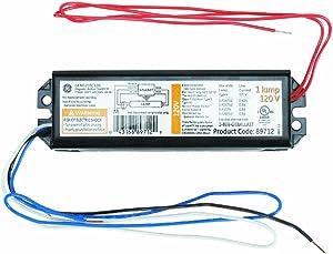 GE Lighting 89712 GEM120TC120DIY LFL Magnetic Rapid Start Ballast for 1- F20T12, F15T8, F15T12, F14T12