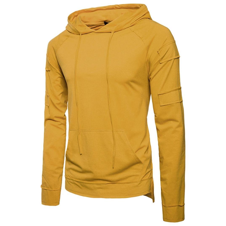 011ddadeaa4 Top10  Zainafacai Men s Lightweight Hooded Packable Joint Long Hoodie  Sweatshirts Top Blouse