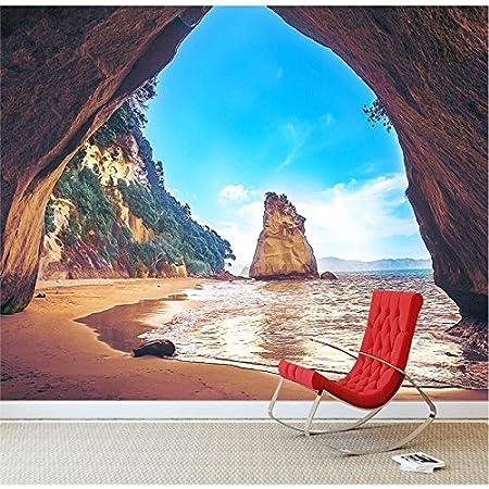 JIUCONGTAIN Fototapeten 3D Wandbild Tapeten Benutzerdefinierte Größe ...