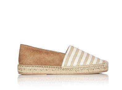 Amazon.com | Matt Bernson Womens Lucia Elastic Stripe Espadrilles | Flats