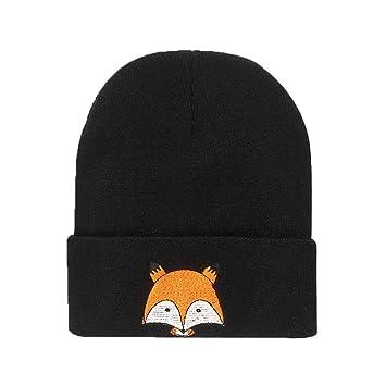 Amazon Bobury Warm Winter Hat Knitted Womens Caps Girls Fox