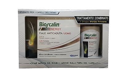 bioscalin Energy Ampollas Anticaída Hombre + Champú Energy Hombre 200 ml