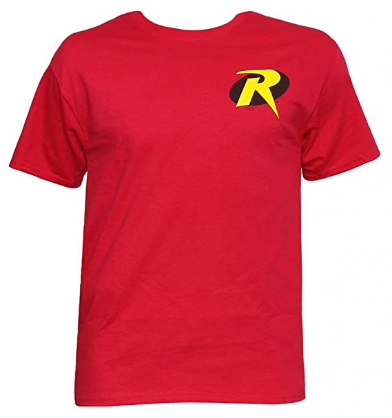 Amazon Officially Licensed Dc Comics Robin Symbol T Shirt Clothing