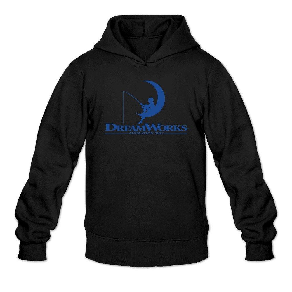 hedone men s dreamworks animation skg logo hoodie black xl amazon