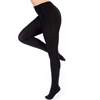 f2fefcefce10b3 Eliza's® Girls Black Thick Leggings Childrens Thermal Fleece Lined Full  Foot Tights