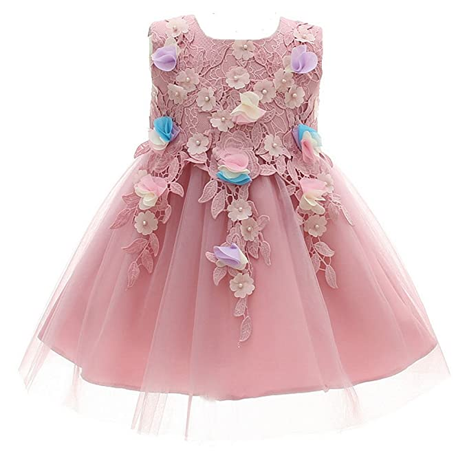 AHAHA Vestido De Bautismo De Bebés Niñas Vestidos De Ocasión Especial