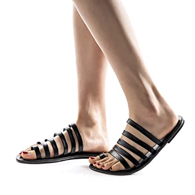 cb4eb82236ada Amazon.com: DOMUMY Water Shoes for Women, Women Summer Open-Toe ...