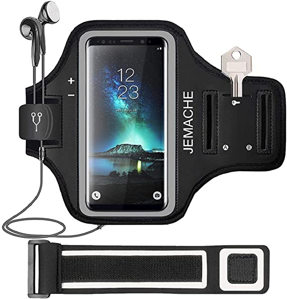 Running Sports Gym Jog Exercise Armband Phone Case Cover SAMSUNG GALAXY S9 PLUS