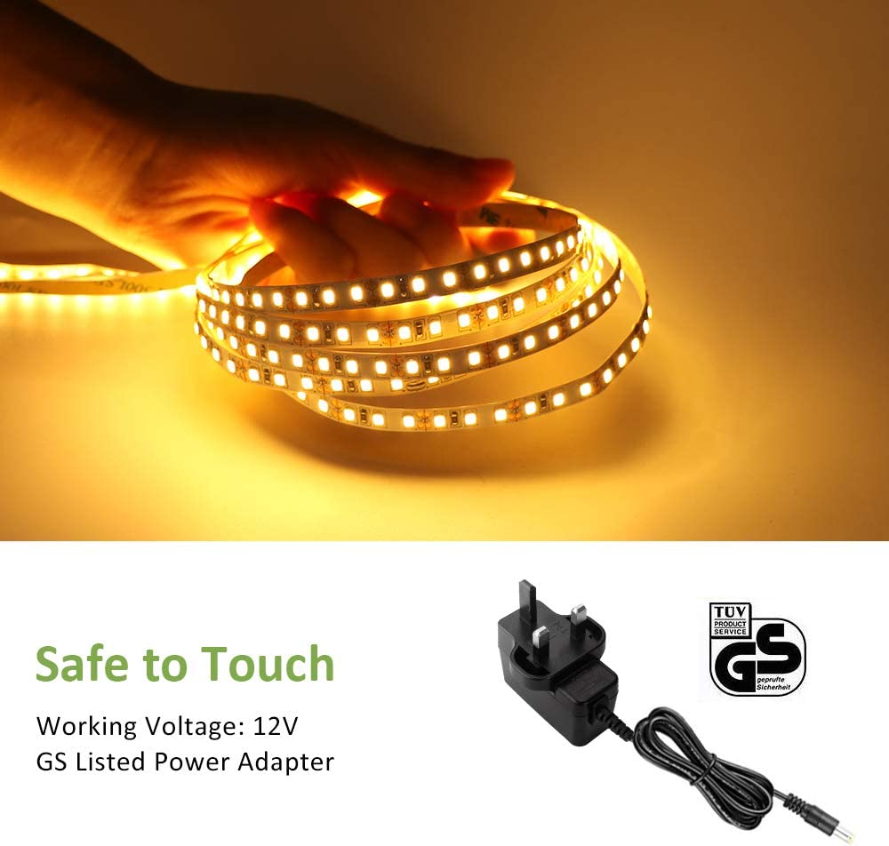 6m White Led Rope Light with 1.5m Power Lead....-Free UK Shipping