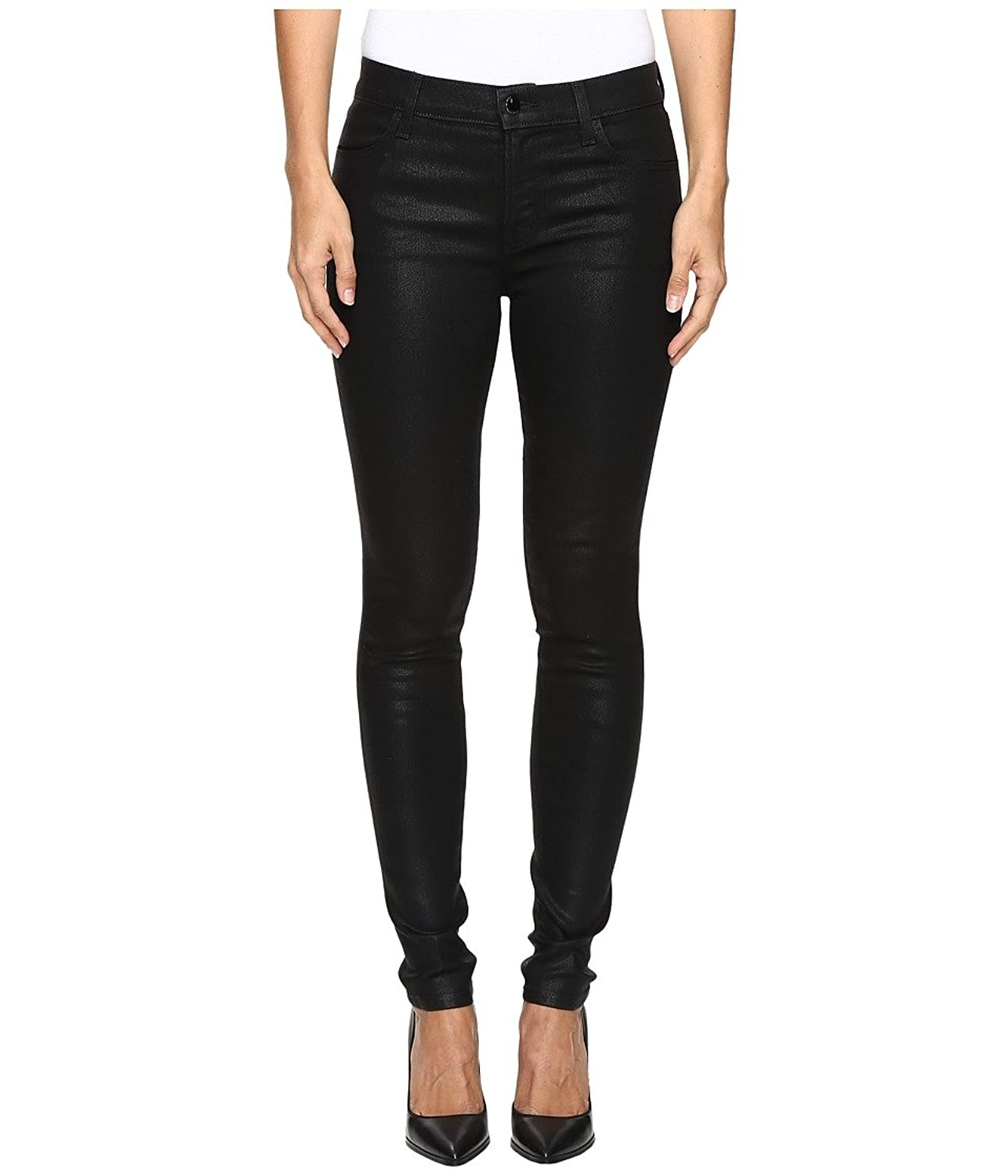 J Brand Womens 620 Mid-Rise Super Skinny in Fearless