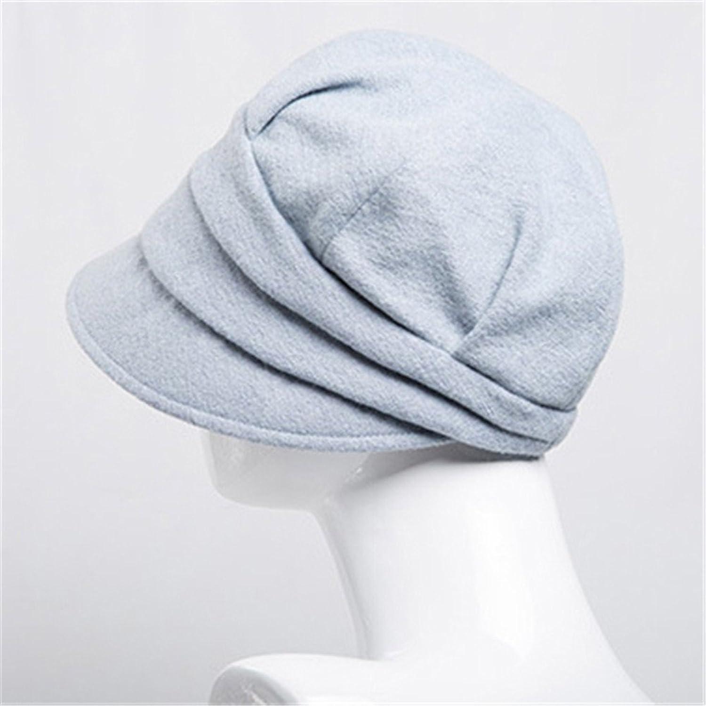 Cappelli Pescatore Donna Ragazza Autunno Inverno Monocromatico Caldo  Cappello Cloche Multicolore: Amazon.it: Abbigliamento