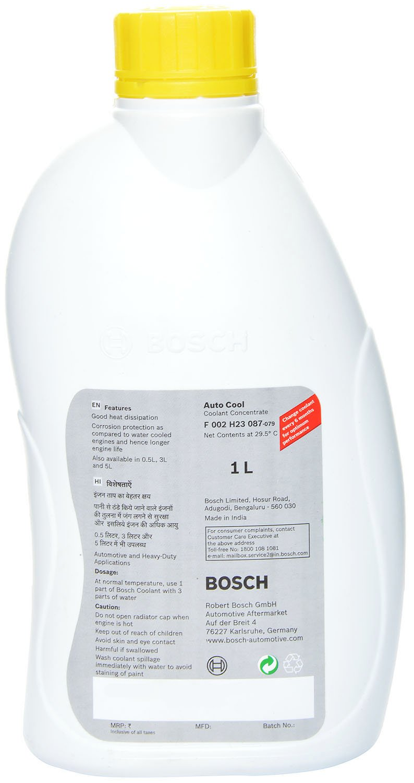 Bosch F002h23085079 Auto Cool Engine Coolant 3 L Car Hyundai 5l Parts Breakdown Motorbike