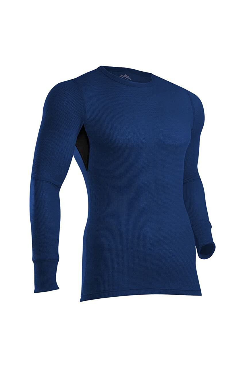 ColdPruf Mens Zephyr Base Layer Long Sleeve Crew Neck Top