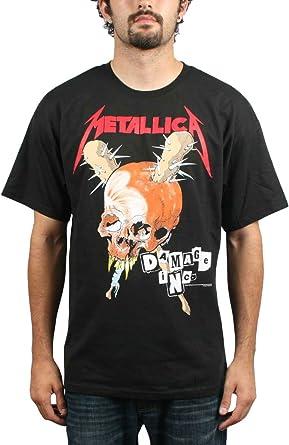 Metallica – daños Inc. Para hombre S/S camiseta de manga corta en color negro Negro negro: Amazon.es: Ropa y accesorios
