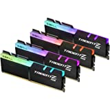 G.SKILL TridentZ RGB Series 32GB (4 x 8GB) 288-Pin DDR4 SDRAM DDR4 3200 (PC4 25600) Desktop Memory Model F4-3200C16Q…