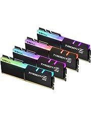 G.SKILL F4-3200C16Q-32GTZR Trident Z RGB Series 32GB, 288-Pin SDRAM DDR4-3200MHz (PC4 25600) Desktop Memory
