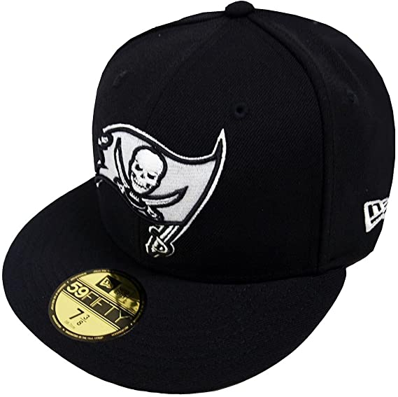 New Era NFL Tampa Bay Buccaneers Black White 59fifty Fitted Cap Limited  Edition  Amazon.co.uk  Clothing 9c8669d6f