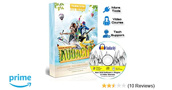 Audacity Audio Recording & Editing Software - Professional Sound Recorder  Software for Windows PC & Mac - Digital Player for Common files: WAV, AIFF,