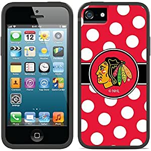 fahion caseiphone 6 4.7 Black Switchback Case with Chicago Blackhawks Polka Dots Design