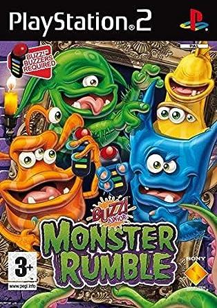 Sony Buzz!Junior: Monsters - PS2 PlayStation 2 vídeo - Juego ...