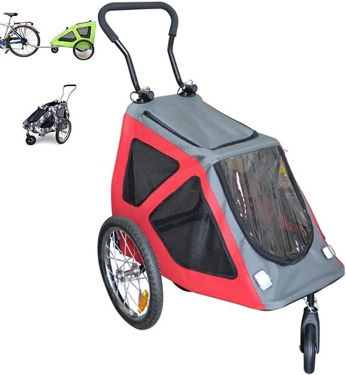 PAPILIOSHOP REX Remolque y carrito cochecito para el transporte de ...