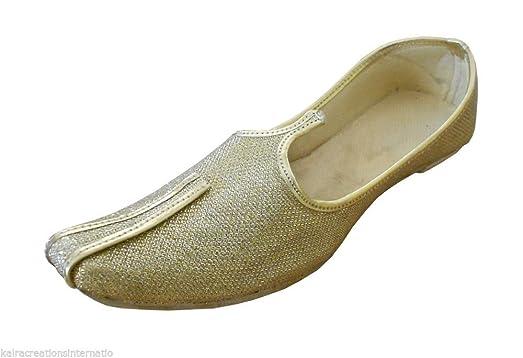 Men Shoes Sherwani Mojaries Khussa Indian Handmade Flip-Flops