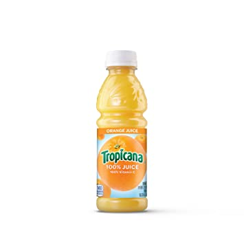 Amazon Com Tropicana Orange Juice 10 Ounce Pack Of 24 Fruit