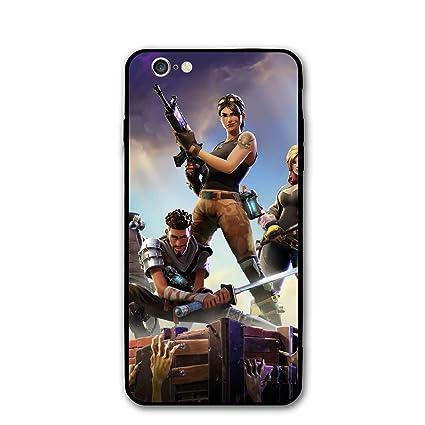 newest 06f8c 1feb8 Fortnite Slim Fit iPhone 6 Case & iPhone 6s Case, Hard Plastic PC Ultra  Thin Full Protective Bumper Anti-Scratch Mobile Phone Cover Case, 4.7