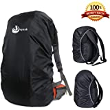 Waterproof Backpack Rain Cover 40L-50L Daypack Dustproof Rainproof Protector Cover (Elastic Adjustable) for Hiking/Camping/Traveling