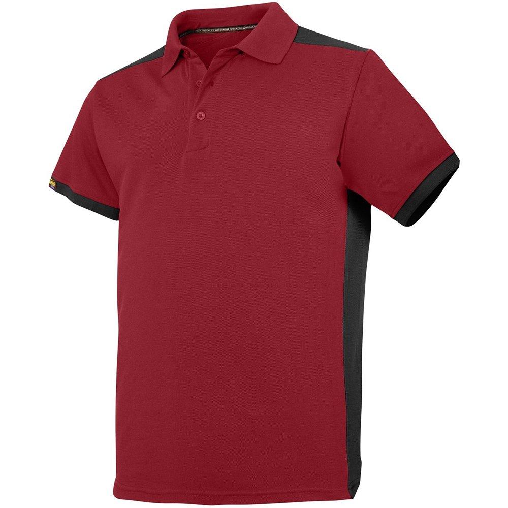 Stahlgrau, Snickers Workwear 27155804009 Polo ShirtAllroundWork Gr/ö/ße XXXL in grau//schwarz