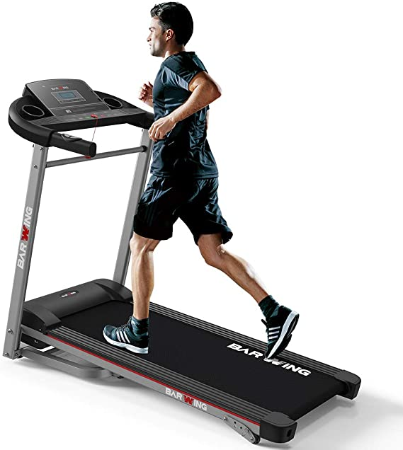 BARWING Electric Folding Treadmill Walking and Running Machine
