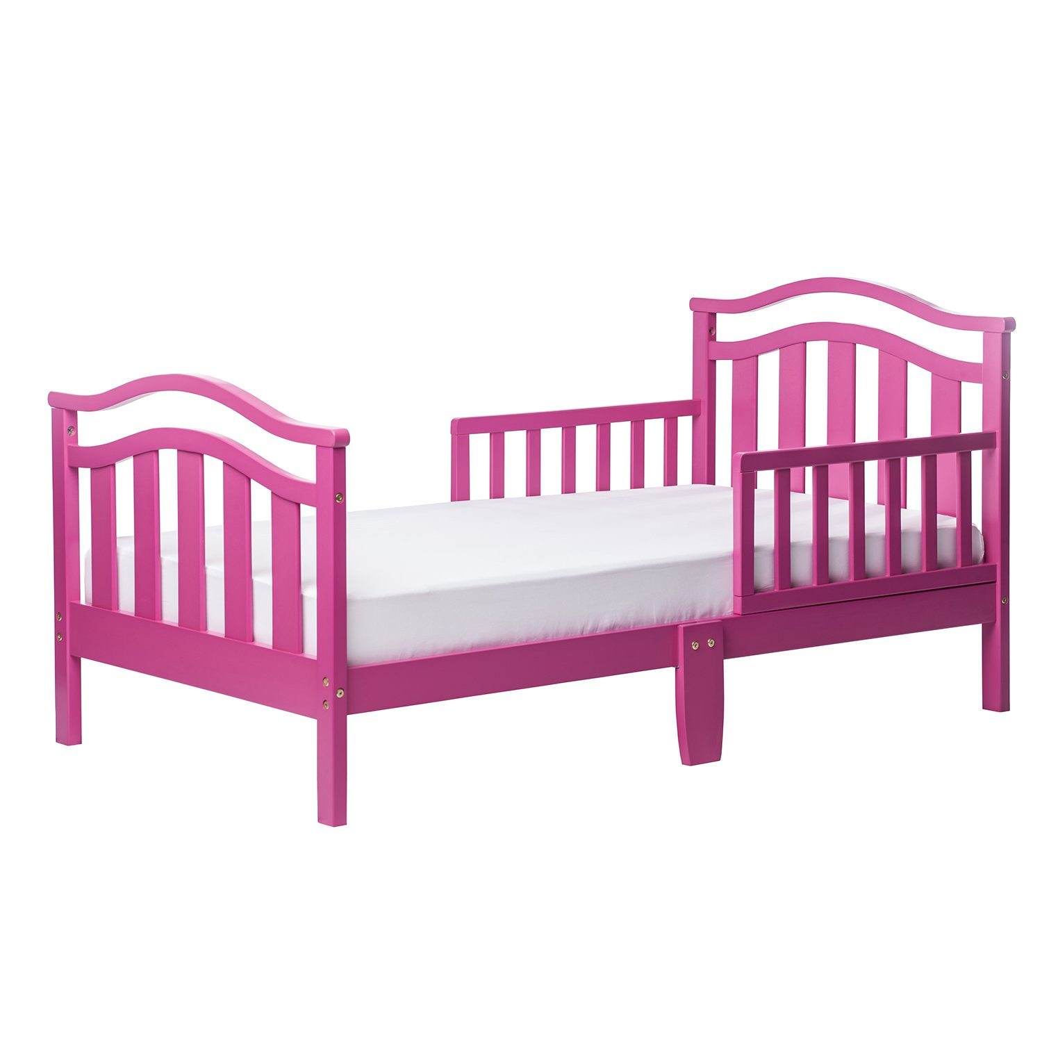 Dream On Me Elora Collection Toddler Bed, Fuschia Pink, by Dream On Me