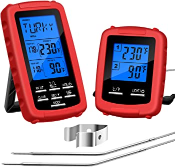 Govee Wireless Grill Thermometer with 2 Probes Remote