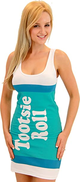 Amazoncom Tootsie Roll Fruit Rolls Candy Tunic Tank Dress Clothing