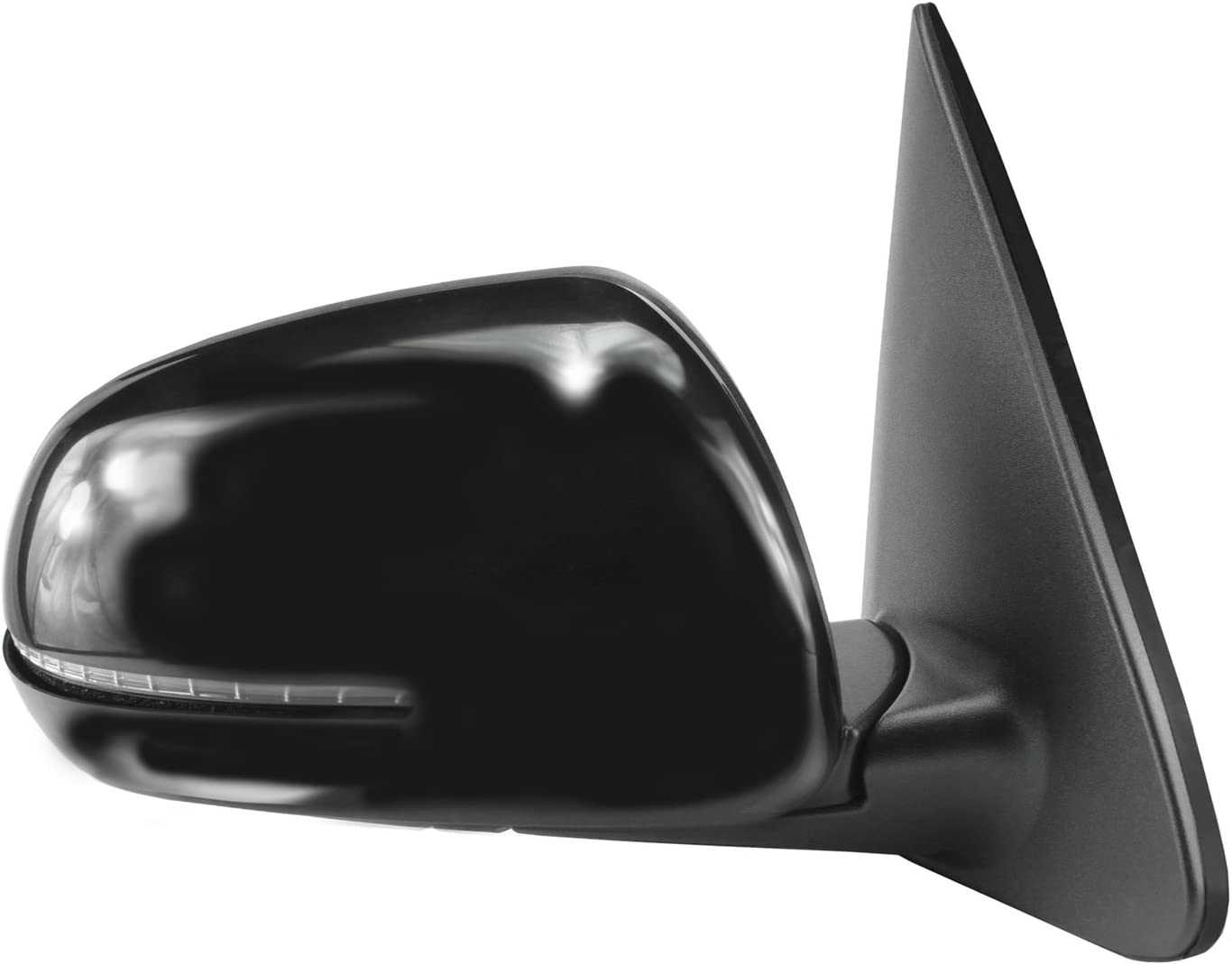 Amazon Com Fit System 75549k Kia Forte Hatchback Sedan Passenger Side Textured Black Heated Power Replacement Mirror With Ptm Cover Automotive