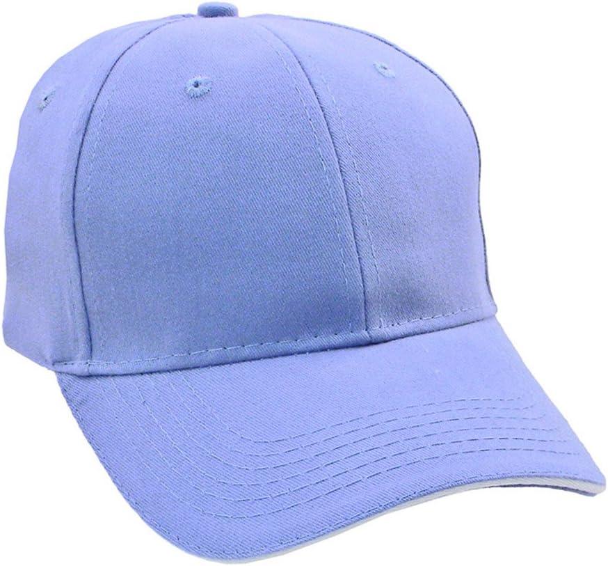 Perfil bajo gorra de béisbol – Color Sólido carcasa Athletic gorro ...